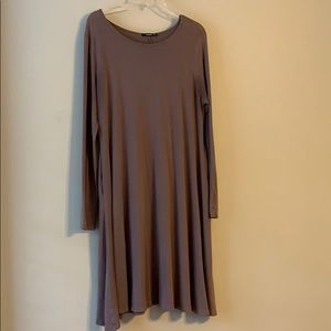 Dresses & Skirts - Mocha long sleeve dress